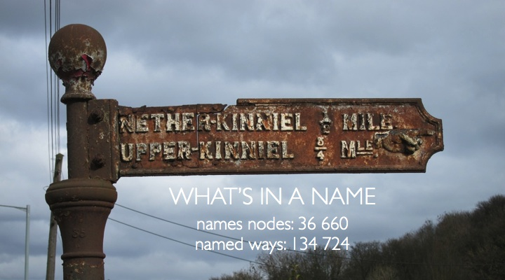 36 660 named nodes and 134 724 named ways